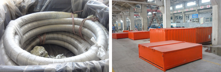 Cementing Hose 15000PSI Packaging